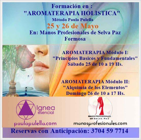TALLER DE AROMATERAPIA HOLÍSTICA en Manos Profesionales de Selva Paz en Formosa