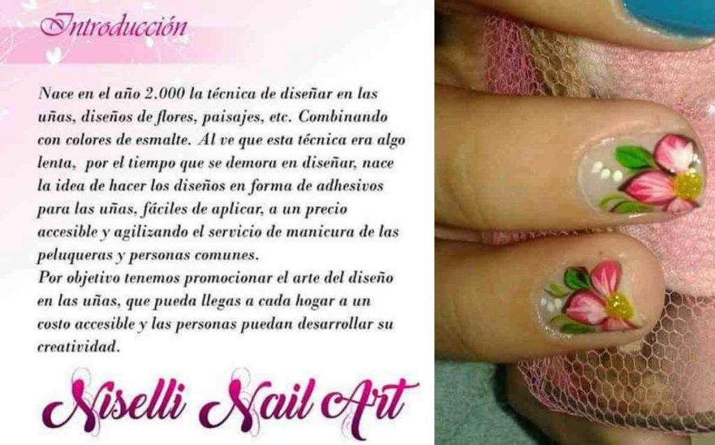 Curso de decoración de uñas por Niselli Nail Art. Apliques, Piedras y Combinación de Accesorios de Fantasía