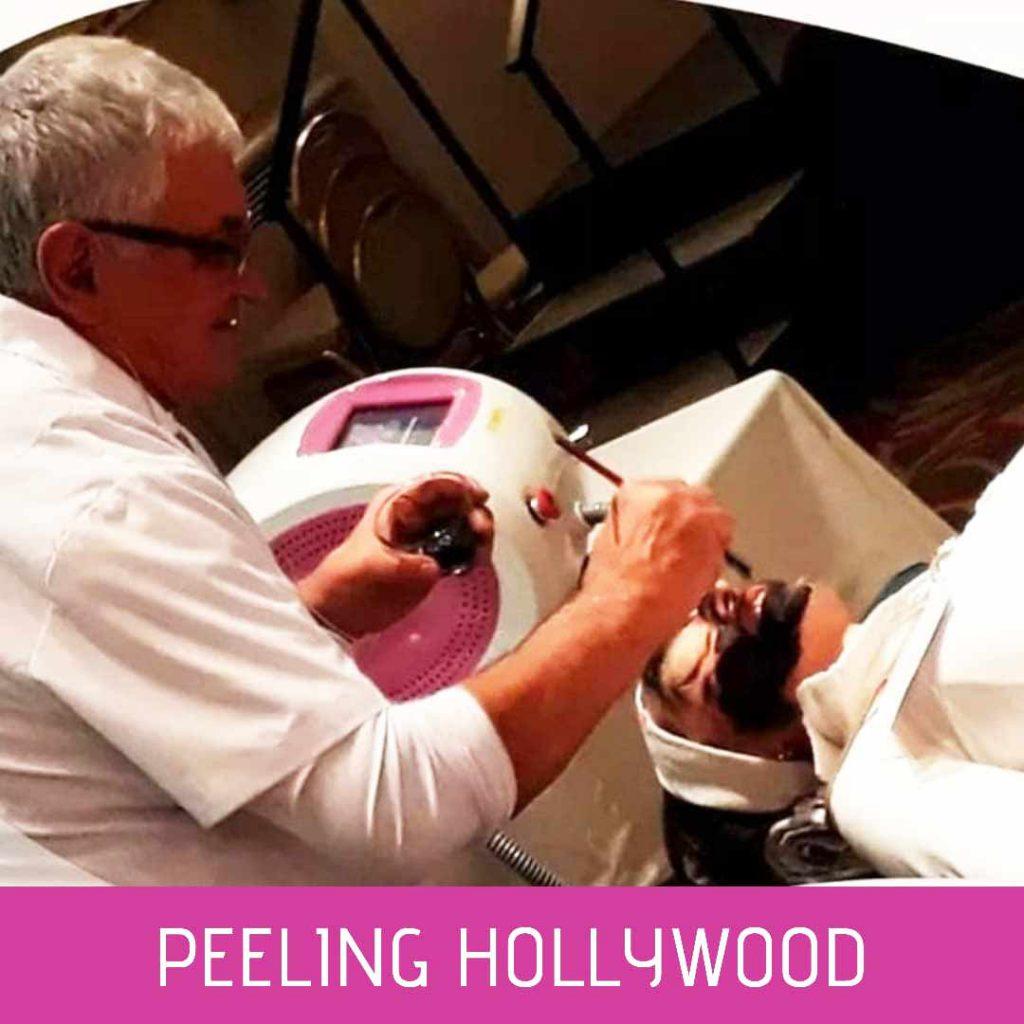Hollywood Peel en Manos Profesionales
