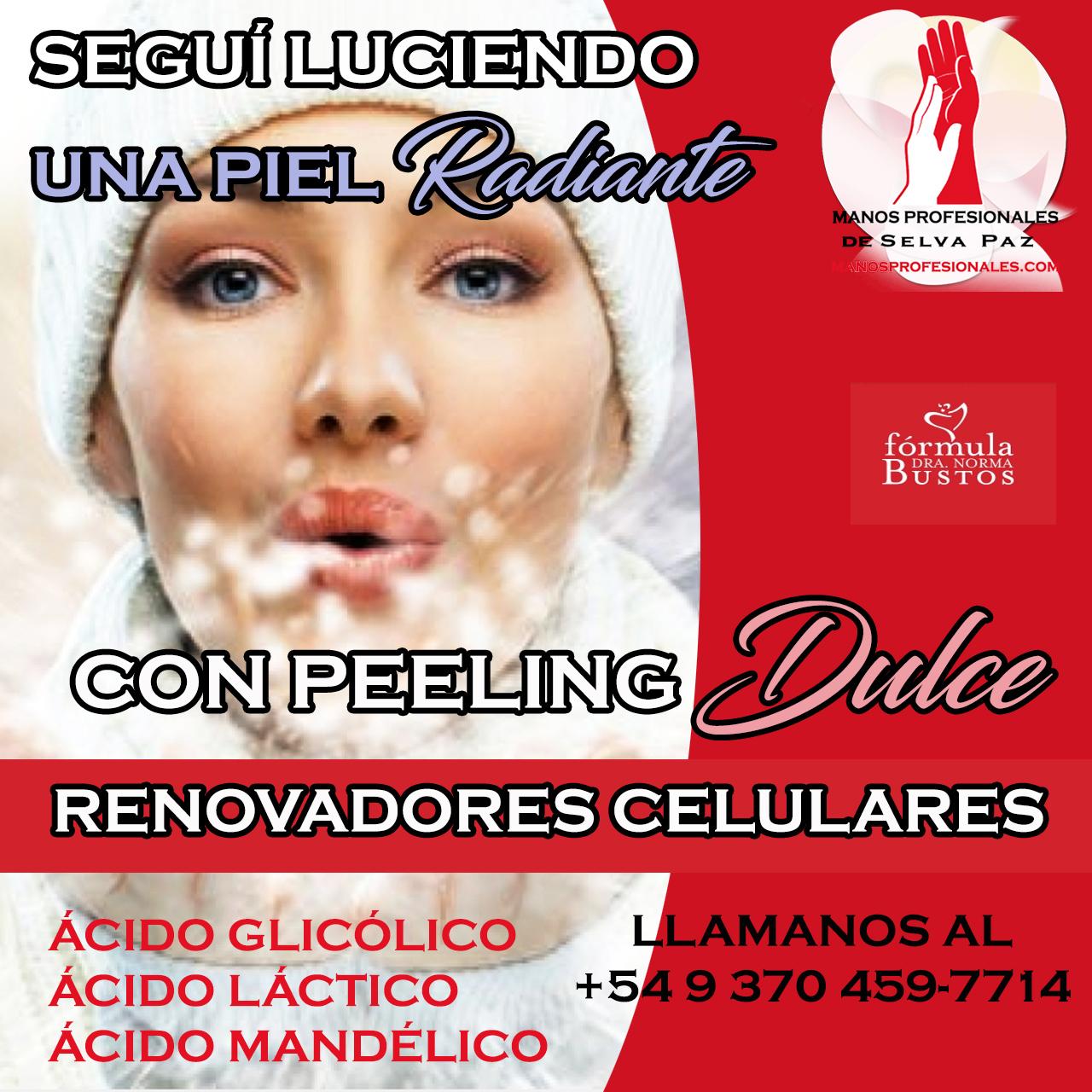 PRODUCTOS para REALIZAR PEELING Línea Fórmula Dra. Norma Bustos