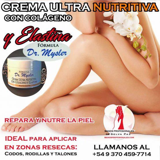 CREMA ULTRA NUTRITIVA CON COLÁGENO Y ELASTINA DR. MYSLER