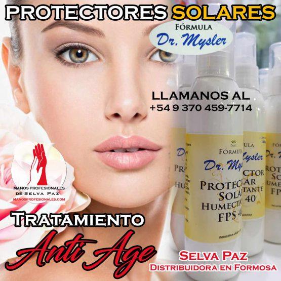 EMULSION DE PROTECCIÓN SOLAR DR. MYSLER
