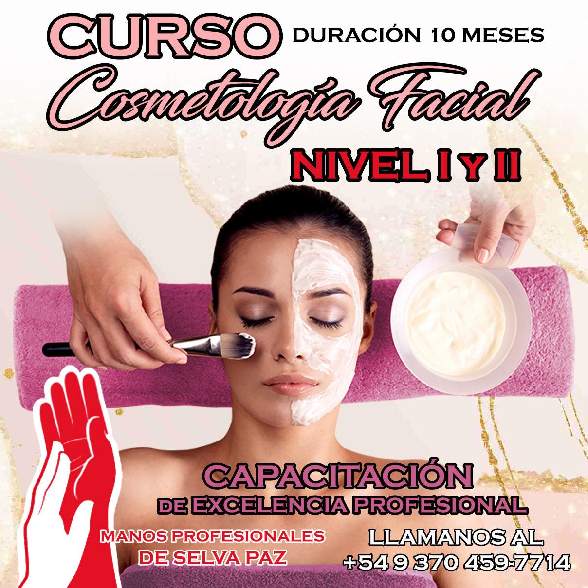 CURSO DE COSMETOLOGÍA FACIAL