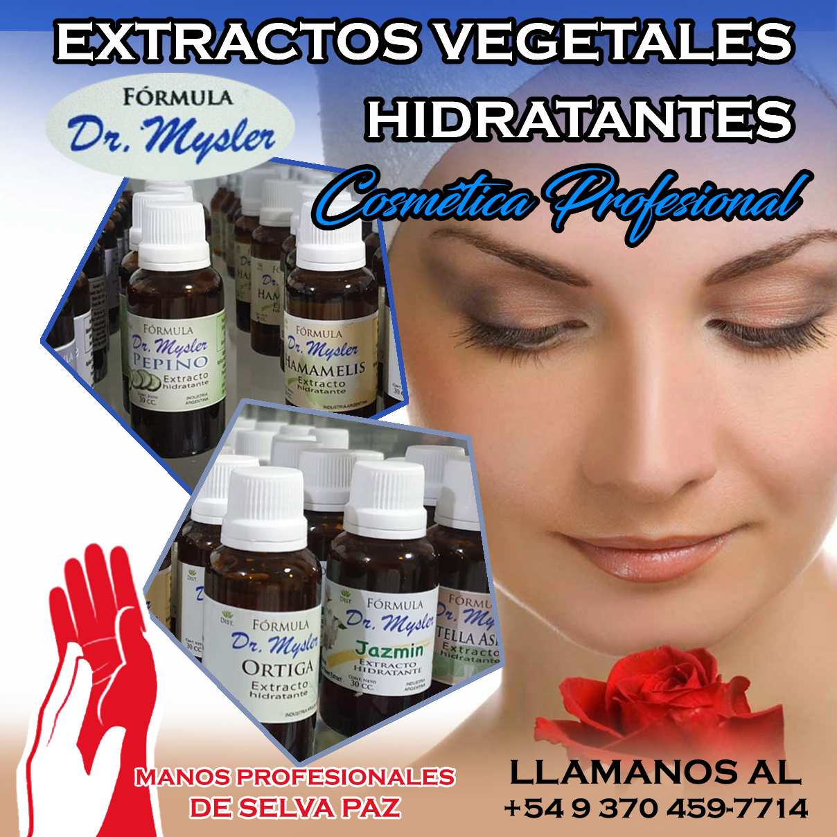 EXTRACTOS VEGETALES HIDRATANTES Fórmula Dr. Mysler
