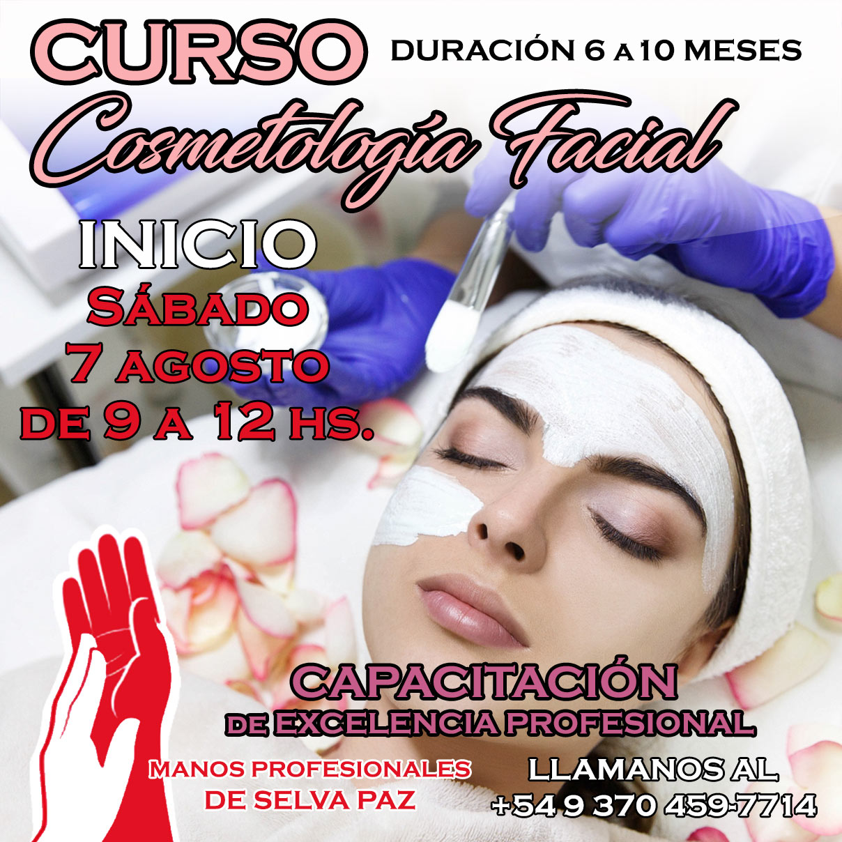 Curso de Cosmetología Facial y Corporal