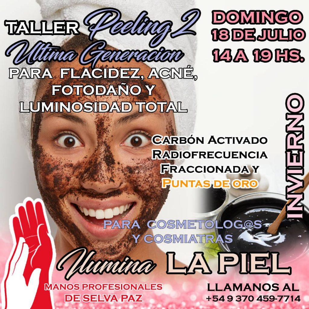 TALLER DE PEELING DE ÚLTIMA GENERACIÓN